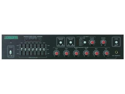 DSPPA MP-6906 Микшер-усилитель для дискуссионной системы 60 Вт\100В, 6 микр/4 AUX входа, 1 выход. 7 полос эквализации.