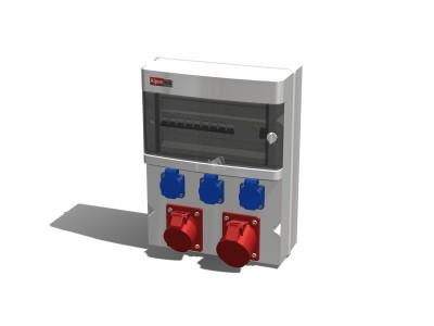 Силовое распределительное устройство PWD AlpenBox 63-A