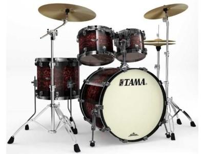 Барабаны TAMA BU42ZS-VRB STARCLASSIC BUBINGA ударная установка из 4-х барабанов (цвет - Volcanic Red Burst) (18х22 бочка, 8х10, 9х12 томы, 14х16 напольный том)