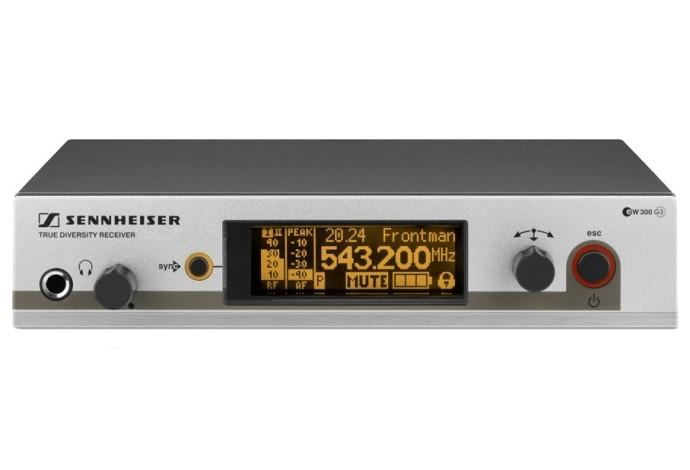 Рэковый приёмник Sennheiser EM 300 G3 + Ручной передатчик Sennheiser SKM 300-865 G3