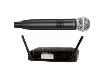 SHURE GLXD24E/SM58 Z2 2.4 GHz цифровая вокальная радиосистема с ручным передатчиком SM58