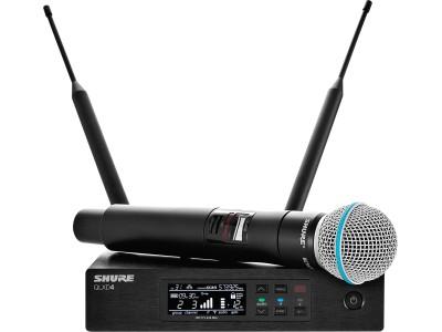 Радиомикрофон SHURE QLXD24E/B58 P51