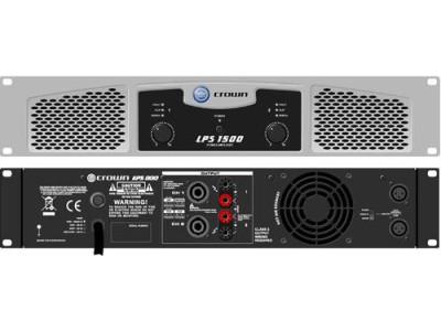 Crown LPS 2500.Профессиональный усилитель мощности 725 Вт/ 4Ом, 550Вт / 8 Ом Мост: 1450 Вт/8 Ом