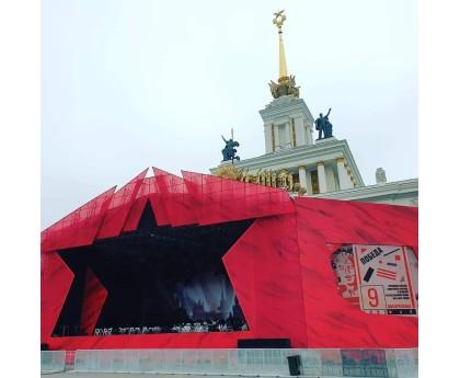 День Победы на ВДНХ. Москва. 09.05.2019.