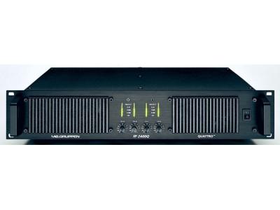 Lab.gruppen fP2400Q усилитель 4-канальный. Мощность (на канал): 500Вт•2Ω, 590Вт•4Ω, 380Вт•8Ω для XT LT