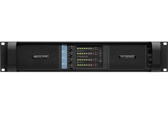 Lab.gruppen fP6000Q/SP усилитель 4-канальный. Мощность (на канал): 1500Вт•2Ω, 1250Вт•4Ω,  для  XT High
