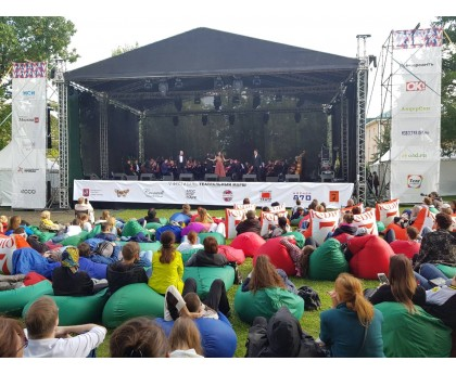 Театральный фестиваль. Сад Эрмитаж. г. Москва. 09.09.2017г.